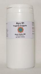 Yogaraj Guggulu (Ayu 51) - Tabletter 2 månader