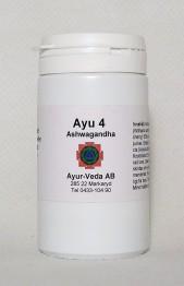 Ashwagandha (Ayu 4) - Tabletter 2 månader