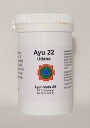 Udana (Ayu 22) - Tabletter 2 månader