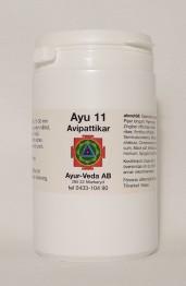Avipattikar (Ayu 11) - Tabletter 2 månader