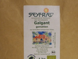 Galgant (eko) - Lösvikt 100g (mald)