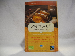 Turmeric/curcuma three roots (eko & fairtrade) - Tepåsar 40,2g