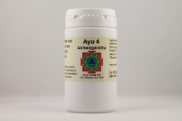 Ashwagandha | tabletter holistisk homeopati alternativ hälsa - Tabletter 2 månader