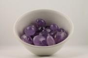 Ametist kristaller/ädelstenar | trumlade spets stav kristaller slipade stenar healing stenar chakra stenar