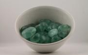 Fluorit kristaller/ädelstenar | trumlade spets stav kristaller slipade stenar healing stenar chakra stenar