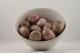 Rodonit kristaller/ädelstenar | trumlade spets stav kristaller slipade stenar healing stenar chakra stenar - 1,60kr/g, priser mellan ca 35-100kr/st