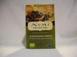 Gunpowder green te (eko & fair labor) - Tepåsar 36g