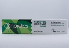 Kokosnöt och Mint Tandkräm - 75ml