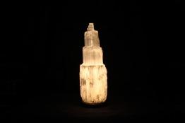 Selenit Lampa - ca 30cm