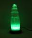Selenit lampa med fluorescerande ljus
