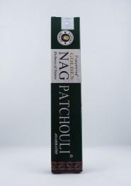 Golden Nag Patchouli rökelse - 15g