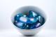 Aqua Aura kristaller/ädelstenar | trumlade spets stav kristaller slipade stenar healing stenar chakra stenar - Pris: ca 25-100kr/st, Gram: 3kr/g