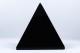 Obsidian pyramid   trumlade spets stav kristaller slipade stenar healing stenar chakra stenar