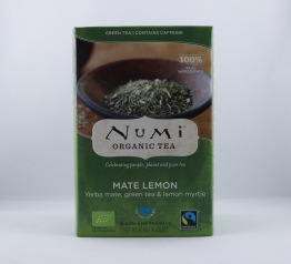 Mate Lemon te (eko & fairtrade) - Tepåsar 40g