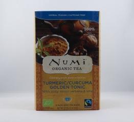 Turmeric/Curcuma Golden Tonic te (eko & fairtrade) - Tepåsar 32g