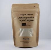 Ashwagandha | pulver holistisk homeopati alternativ hälsa (eko)