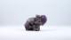 Ametist elefant | trumlade spets stav kristaller slipade stenar healing stenar chakra stenar - Pris: 129kr, Gram: ca 50g