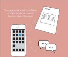 Fakturera och scanna in underlag direkt från mobilen