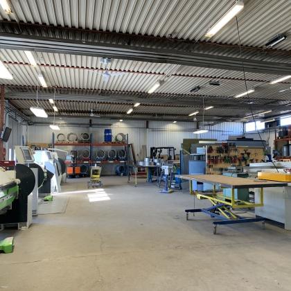 Plåtcentrum har Piteås är ett komplett plåtslageri för all sorts plåtarbeten