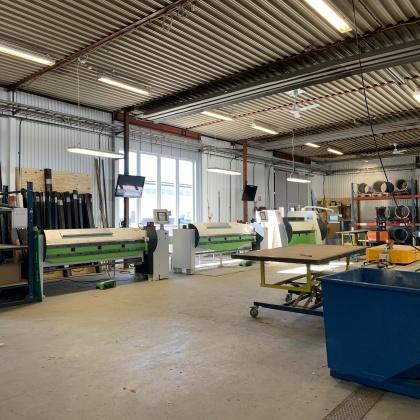 Plåtcentrum har Piteås största och mest moderna maskinpark