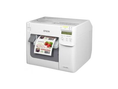 Epson ColorWorks C3500 Färgprinter Color Printer Färgskrivare Labeltec.se