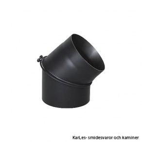 Kaminrör böj_vinkel rökrör_45* Ø 120mm