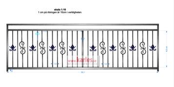 villa 351cm med stolpar