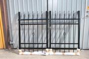 GÅNGGRIND_ ENTREGRIND_ DUBBELGRIND_ N3_ VARMFÖRZINKAT_ PULVER_ H.115_ 116cm-2