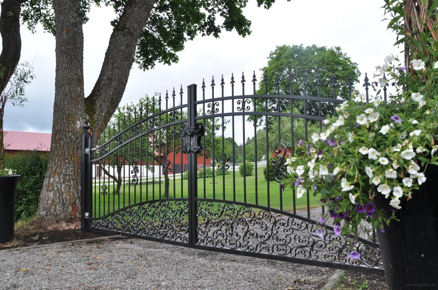 grind, smide, räcke, fransk balkong - Karles : staket kostnad : Staket