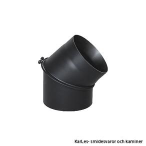 Kaminrör böj_vinkel rökrör_45° Ø 160mm