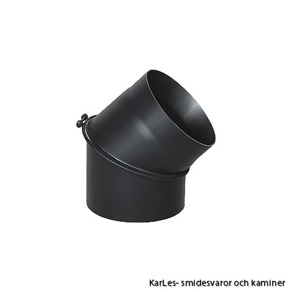 Kaminrör böj_vinkel rökrör_45° Ø 200mm