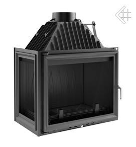 Insatskamin AMELIA 25 kW av gjutjärn + VÄNSTER sidoglas