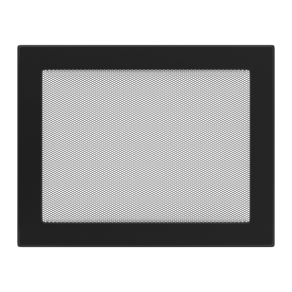 GALLER pulverlackerat 22/30 - svart