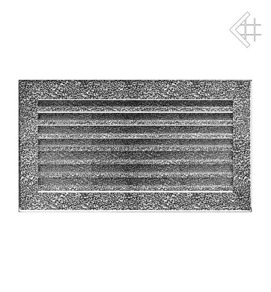 GALLER pulverlackerat FRESH 17/30 -  silver - svart