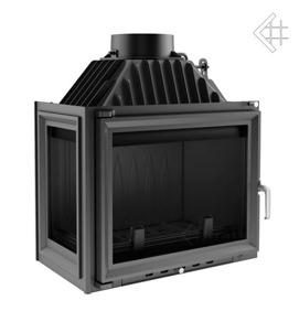 Insatskamin MAJA 12 kW av gjutjärn VÄNSTER sidoglas + EXTERNLUFT