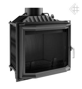 Insatskamin av gjutjärn ANTEK 10 kW VINKLATGLAS + EXTERNLUFT
