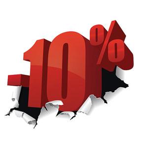 10% RABATT SKORSTEN SCHIEDEL