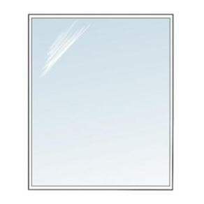 Golvglas i härdat klart glas - fyrkantig_kvadrat 110x110cm