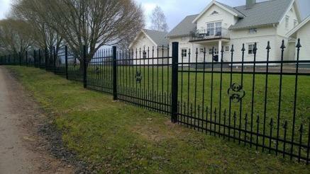 staket, grind, räcke