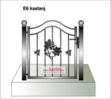 E6 kastanj