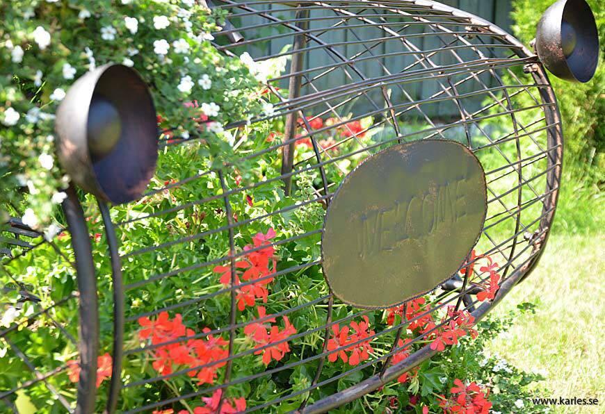 Trädgård,bil