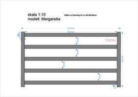 MARGARETTA modell större avstånd