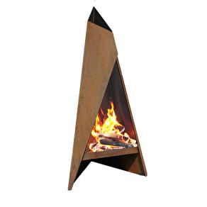 KAMPANJPRIS HETA Tipi  _uteplats värmare av stål