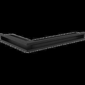 GALLER-LUFT-HÖRN 40x60x6 cm SVART