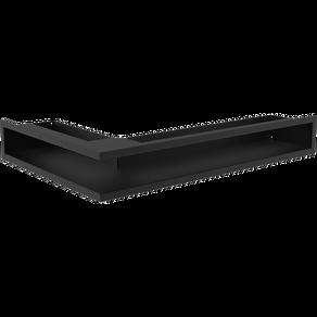 GALLER-LUFT-HÖRN 40x60x9 cm SVART