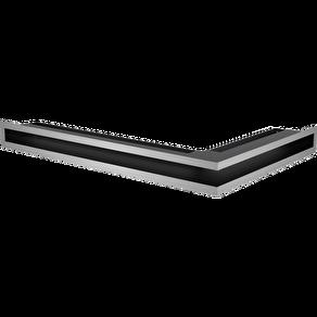 GALLER-LUFT-HÖRN 60x40x6 cm SILVER/ROSTFRI