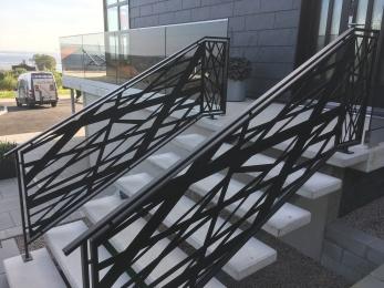 trappräcke, räcke