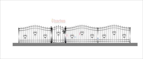 staket hjärta