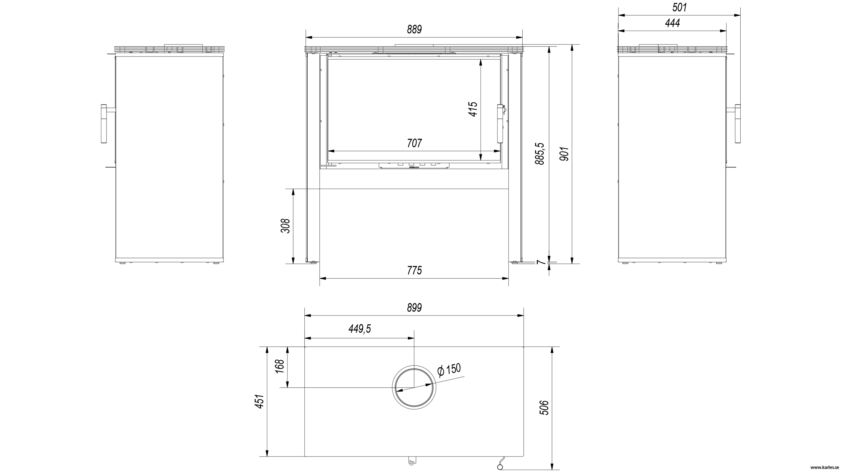 RV solpanel krok upp