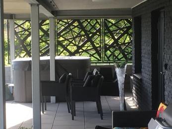 staket, skärm